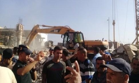 """إنزكان: تنفيد قرار """"هدم"""" مسجد يثير غضب تجار سوق المتلاشيات"""