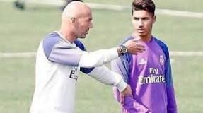 زيدان يضم المغربي أشرف حكيمي إلى الفريق الأول لريال مدريد