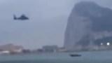 هيلوكبتر تطارد زوارق مملوءة بالحشيش قرب جبل طارق غير بعيد عن السواحل المغربية