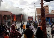 بعد إنزكان، حريق مهول في محلات تجارية بتافراوت يخلف خسائر فادحة (+فيديو).