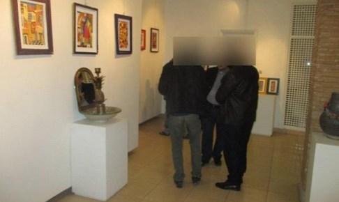 +صورة:لوحات جنسية وبورنوغرافية بامتياز تعرض في معرض بأيت ملول تؤجج غضب مواطنين