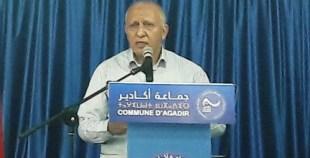 """بالفيديو: المالوكي يثور في وجه تجار أكادير قائلا: """"مابقيتوش تصوتو عليا حتى ليوم القيامة"""""""