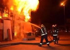 حالة استنفار بأكادير بعد التهام النيران لجزء من محطة لتوزيع الكهرباء.