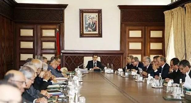 مجلس حكومة العثماني ينعقد يوم غذ الخميس لمناقشة النقط التالية: