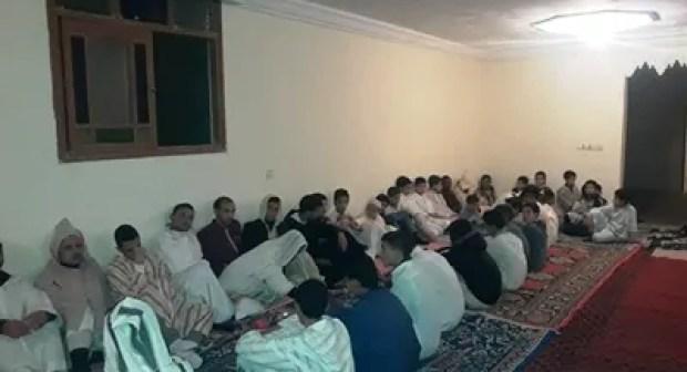 أكادير : اشراقات روحية بالمدرسة العتيقة تيغانمين بمناسبة ذكرى المولد النبوي الشريف