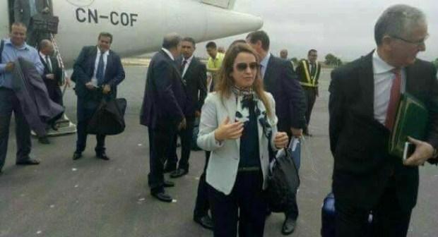 لحظات رعب حقيقية عاشتها الوزيرة أفيلال على متن طائرة من أكادير متجهة إلى البيضاء