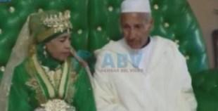ضجة في العالم الأزرق بسبب حفل زفاف كوبل آخر تزوج في دار العجزة.