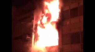 عااجل: اندلاع النيران بعمارة سكنية بأكادير، والسكان يهرعون إلى الشارع