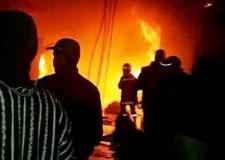 اعتقال 10 لصوص استغلوا فاجعة سوق إنزكان للسطو و السرقة