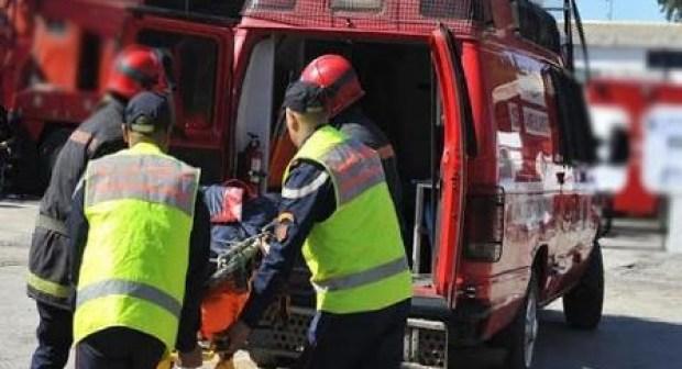 مأساة بتيزنيت:بتر ساق سائق شاحنة، و وفاة مساعده، بعد حادثة سير خطيرة وقعت يوم أمس بتيزنيت