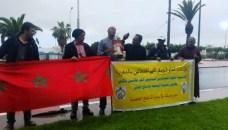 مرشدون سياحيون بحتجون أمام المندوبية الجهوية للسياحة بأكادير