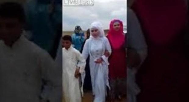 (فيديو)زواج غير منطقي لفتاة من طفل بالأردن