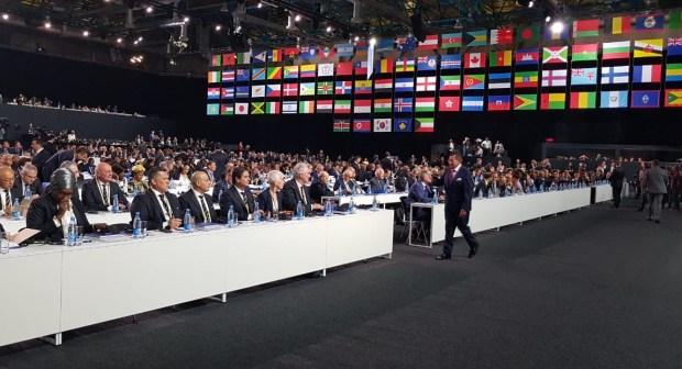 عاجل:فوز الترشيح الأمريكي بـ134 مقابل 65 صوتاً للمغرب لتنظيم مونديال 2026