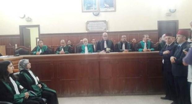 تعيين قضاة جدد بالمحكمة الابتدائية لإنزكان (+صور و فيديو).