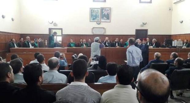فيديو تعيين قضاة جدد بالمحكمة الابتدائية بانزكان