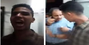 """شاهد ردة فعل مدير المحطة اتهمه """"شاب""""باحتجازه وبث العملية """"لايف"""" على فيسبوك"""