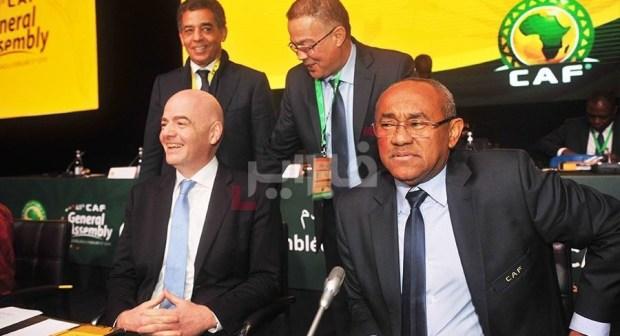 رئيس الكاف يُحدّد موقفه الأخير من إجراء كأس امم إفريقيا في الكاميرون