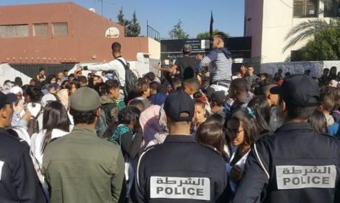 المحكمة تدين أحد متزعمي احتجاجات التلاميذ ضد الساعة الجديدة بالحبس النافذ