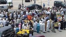 أكادير: باعة يحتلون مدارة طرقية هامة بالمدينة، مانعين المرور بها، وسط مطالب بتدخل الجهات الوصية لفك الحصار.(+صور)