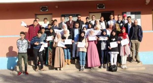 صحفيون شباب يشرفون على تكوين أزيد من 30 تلميذا بأكادير (+صور)