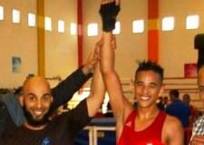 بطل الملاكمة المغربي زهير خيراوي ابن إنزكان، يتأهل لنهائي البطولة العربية للملاكمة.