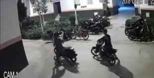 +فيديو: سرقة دراجة نارية بطريقة ذكية بأحد الأحياء بمدينة أكادير.