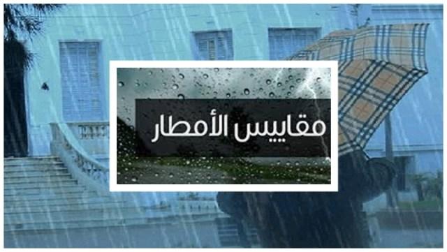 التساقطات الأمطار مقاييس الأمطار