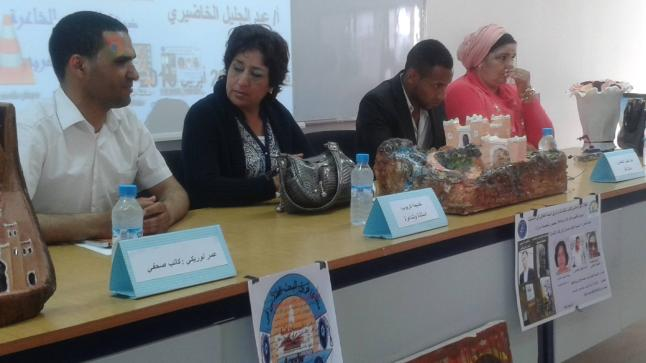 فريق منتدى البحث الطلابي في اللسانيات يكرّم الدكتورة الشّاعرة خديجة كربوب والشّاعرة مينة حسيم و الإعلامي الشاب عمر لوريكي