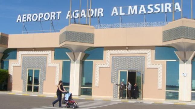 ارتفاع عدد مستعملي مطار أكادير في أكتوبر
