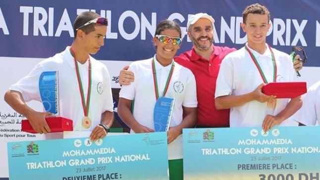 بالصور .. السواسة يهيمنون على الجائزة الوطنية الكبرى للترياتلون بالمحمدية