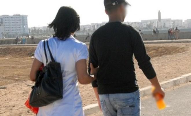 """أمن أكادير يوقف """"كوبل شبابي"""" بجوار مؤسسة تعليمية في وضع مخل بالحياء"""