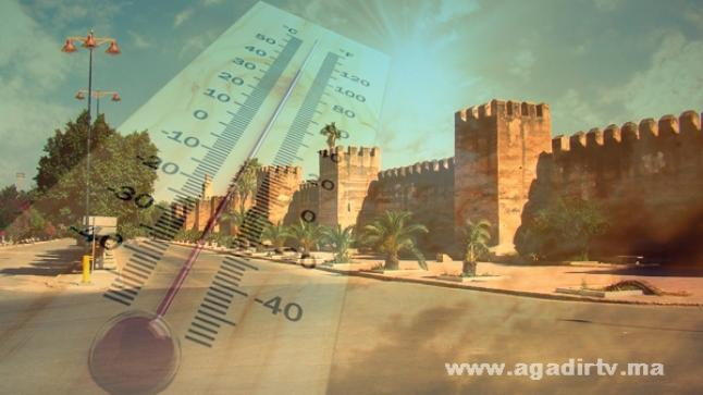 استمرار موجة الحرارة بمنطقة سوس اليوم الأربعاء