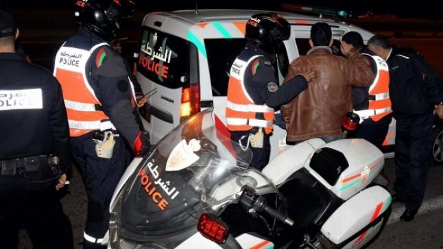 أمن أولاد تايمة يوقف قاصرَيْن متورطين في سرقة وتكسير محل تجاري