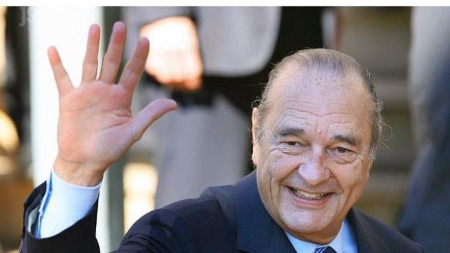 وفاة الرئيس الفرنسي الأسبق جاك شراك