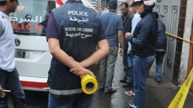 شخص يقتل زوجته الحامل بالدشيرة بواسطة آلة حادة