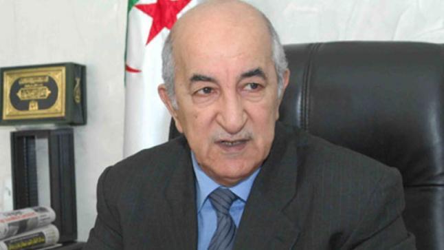 """""""عبد المجيد تبون"""" رئيسا جديدا للجزائر"""