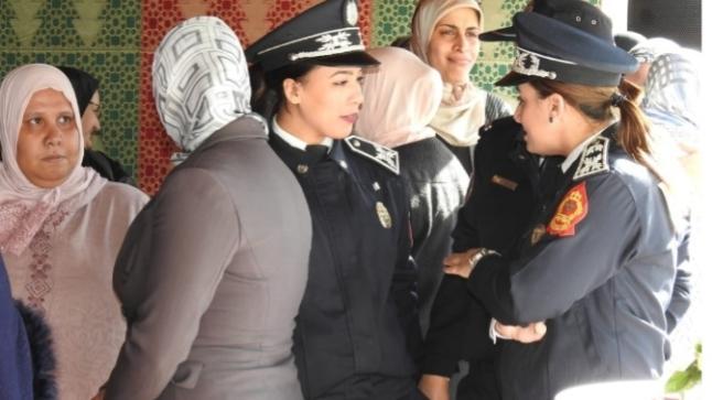 الأمن الوطني بأكادير يكرم الشرطيات في عيد المرأة (صور)
