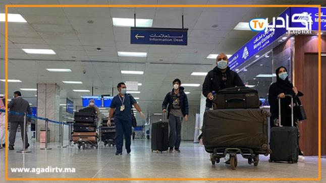 مطار أكادير يستعد لاستقبال المغاربة العالقين في عدد من دول العالم بسبب كورونا