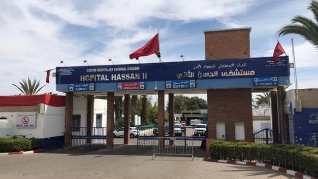 مصلحة إنعاش إضافية بالمستشفى الحسن الثاني بأكادير موجهة لعلاج مرضى كورونا