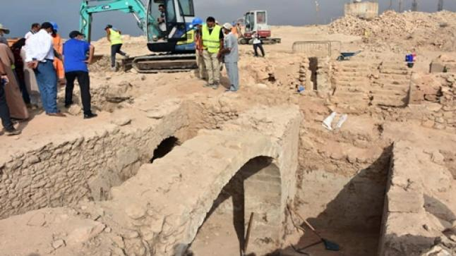 اكتشاف تاريخي .. العثور على باب قصبة أكادير أوفلا يرجع تاريخه إلى عهد السعديين (صور)