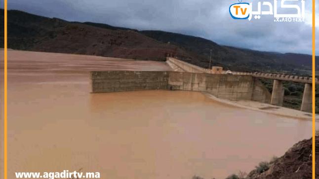 امتلاء سدين .. حقينة سدود سوس الإجمالية تصل إلى 112 مليون متر مكعب بعد الأمطار الأخيرة