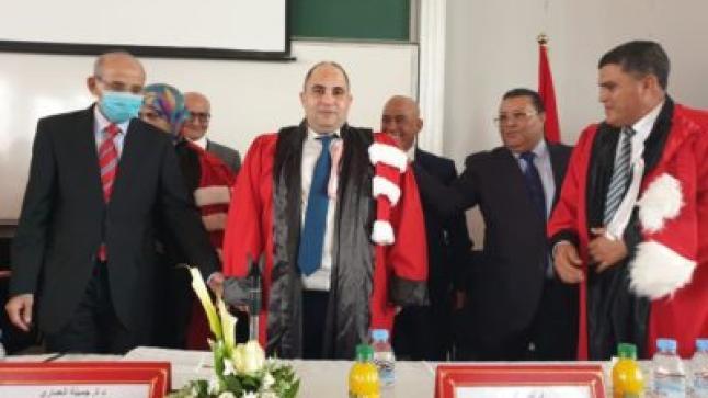 """بميزة """"مشرف جدا"""" الحسني وكيل الملك بابتدائية طانطان ينال شهادة الدكتوراه"""