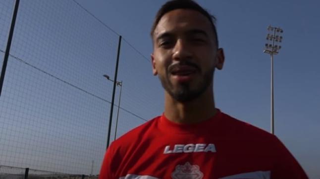 من تدريباتهم استعدادا لمواجهة بركان.. لاعبو حسنية أكادير يباركون للمغاربة حلول شهر رمضان (فيديو)