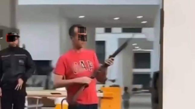 شخص هائج يطلق النار بشكل عشوائي ويرعب ساكنة أرقى حي بأكادير