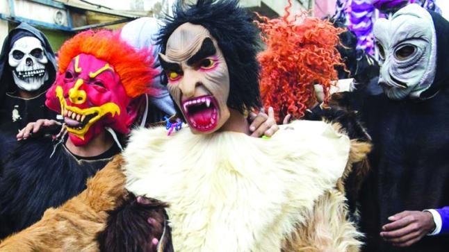 احتفالات بوجلود تتسبب في إيقاف عدد من الشبان بأولاد تايمة