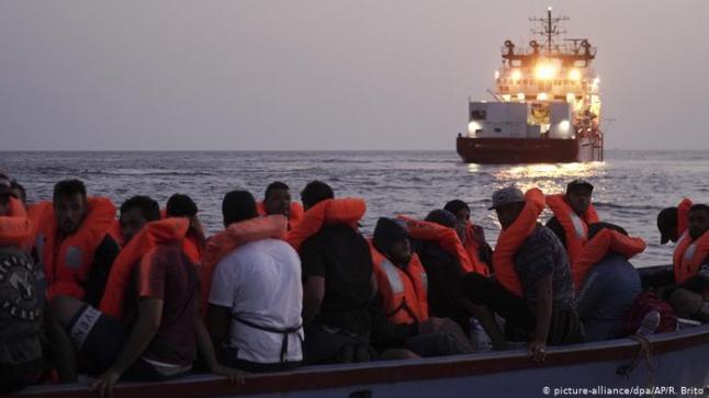 """""""أوشن فايكينغ"""" تنقذ 129 مهاجرا في المتوسط خلال نهاية الأسبوع"""