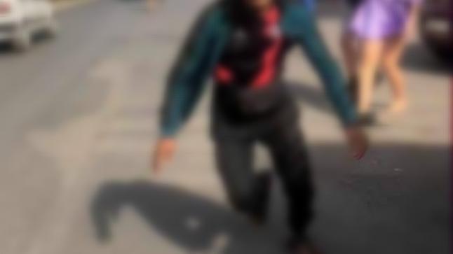 توقيف قاصر مصور عملية تحرش بفتاة في الشارع العام