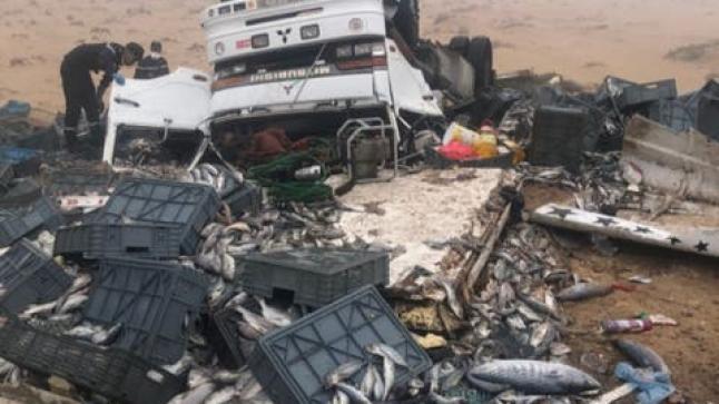 مصرع سائق شاحنة كانت في طريقها إلى أكادير