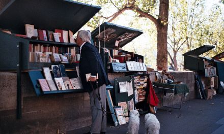 ATG Quirkies: the Seine 'the only river in the world that runs between two bookshelves'.