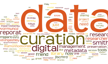 """ATG """"I Wonder"""" Wednesday: Is your library currently involved in data curation activities?"""